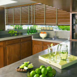 Country Woods  blinds with tapes for Kitchen