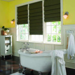 Roman blinds - Burnaby