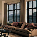 Wood blinds - Vancouver