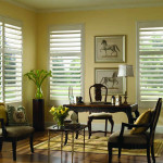 Shutters for living room
